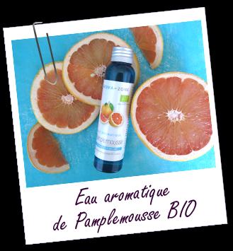 Eau aromatique Pamplemousse BIO Aroma-Zone