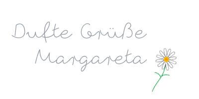 Dufte Gruesse, Margareta Ahrer