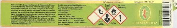 Warnhinweise und Gefahrenpiktogramme auf ätherischen Ölen, Deklaration