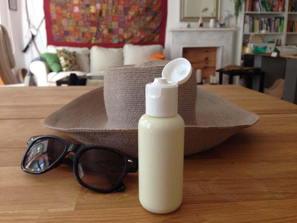 natürlicher Sonnenschutz - Sonnenöl selbermachen