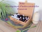 Boîte de rangement d'huiles essentielles Pranarom VS Aroma-zone