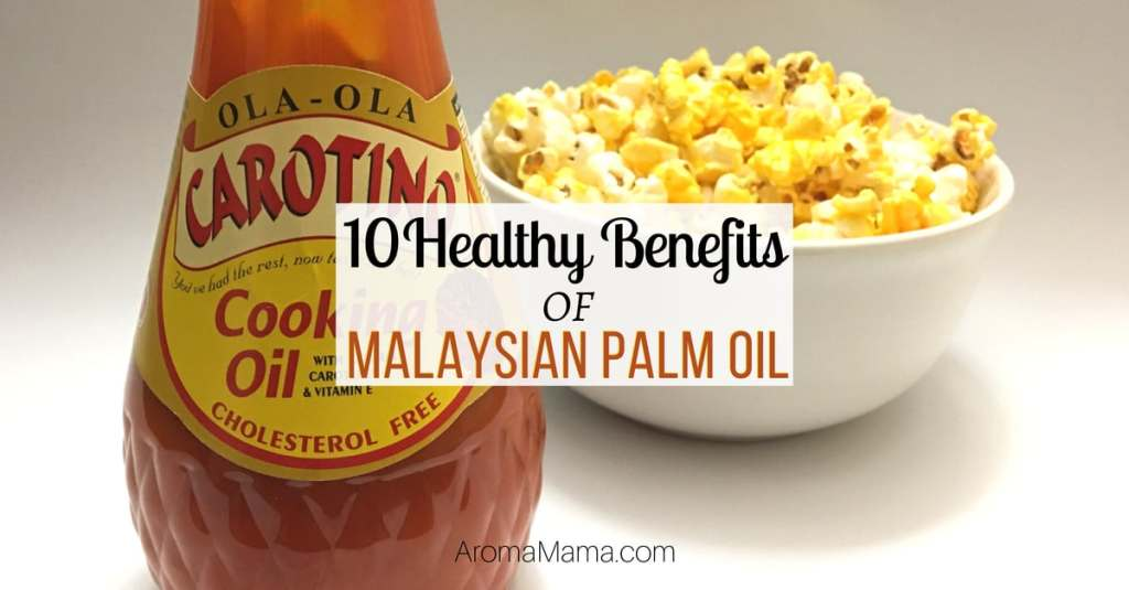 There are so many healthy benefits of Malaysian palm oil. Malaysian sustainable red palm oil has superior health benefits over other vegetable oils, has a neutral taste, and is versatile in the kitchen for frying, baking, grilling, and as a topping for popcorn.