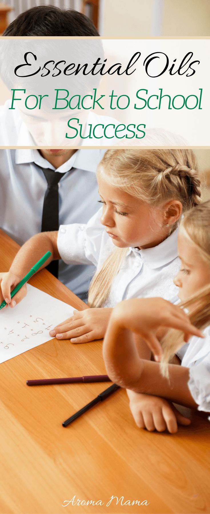 Are you getting ready for another school year? Learn the six essential oil products that can help kids for back to school success.