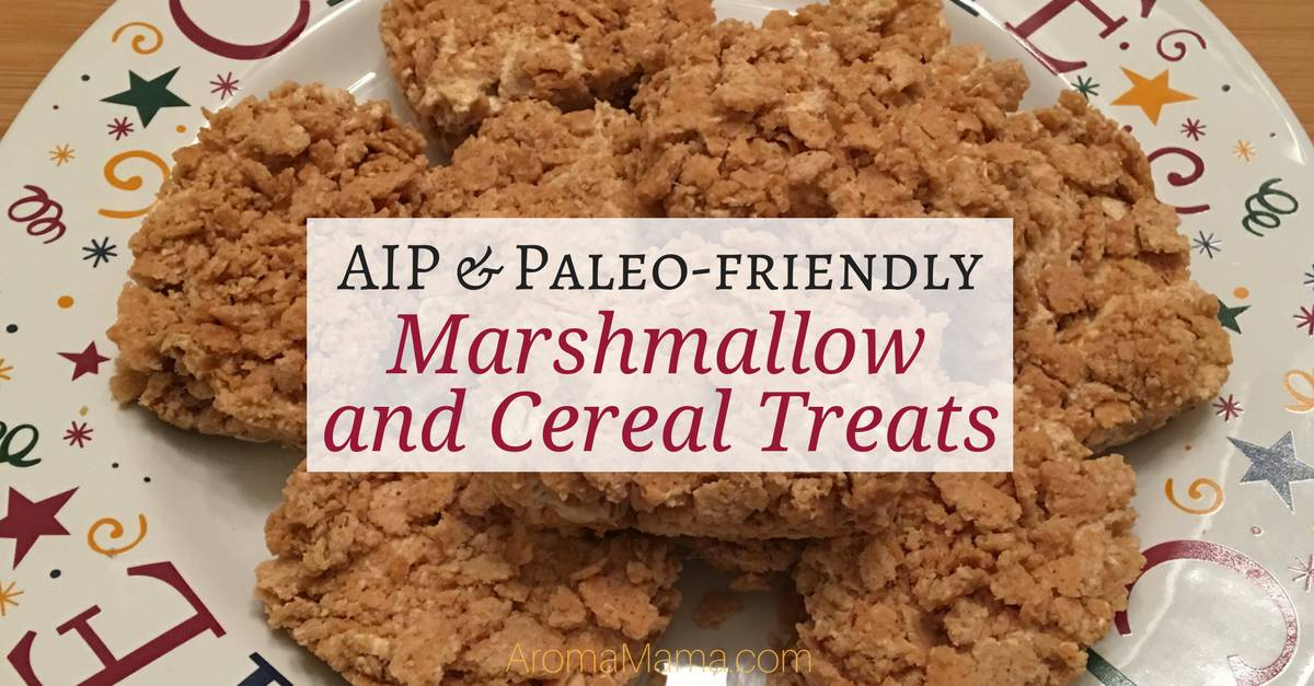 AIP & Paleo-Friendly Marshmallow and Cereal Treats