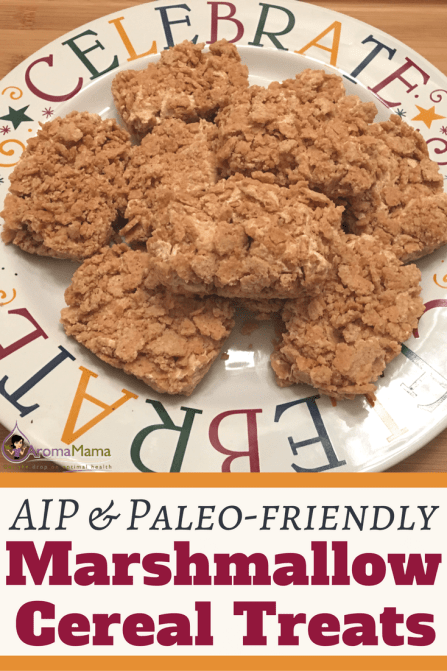 AIP & Paleo-Friendly Marshmallow and Cereal Treats are an Autoimmune Paleo (AIP) and Paleo-friendly treat that you don't want to miss if you love marshmallows and you're on a healthy diet!