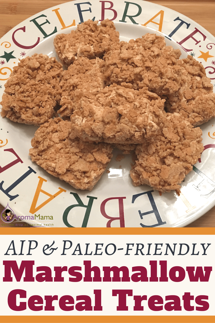 AIP & Paleo-Friendly Marshmallow and Cereal Treats are a treat that you don't want to miss if you love marshmallows and you're on an Autoimmune Paleo or Paleo diet! These treats are a healthier dessert option that is quick and easy to make.