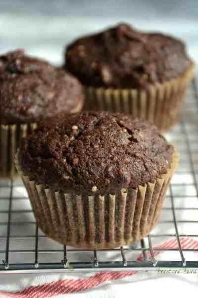 Chocolate Hemp Protein Muffins