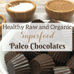 Healthy Raw and Organic Superfood Paleo Chocolates