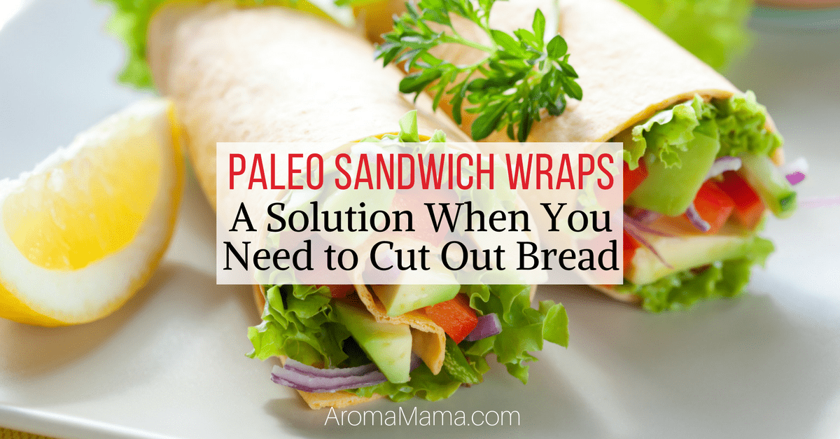 Paleo Wraps are a quick and easy way to eat a healthy meal all while cutting out bread from the diet. Check out these Paleo Sandwich Wrap meal ideas for breakfast, lunch, and dinner.