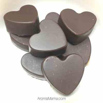 Superfood Paleo Heart Shaped Chocolates