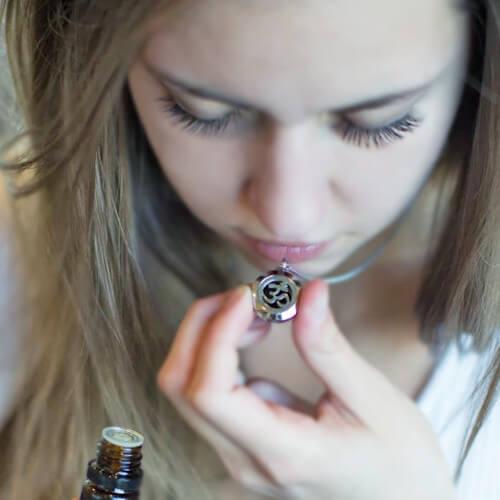 Aroma šperky aromaterapia vôňa