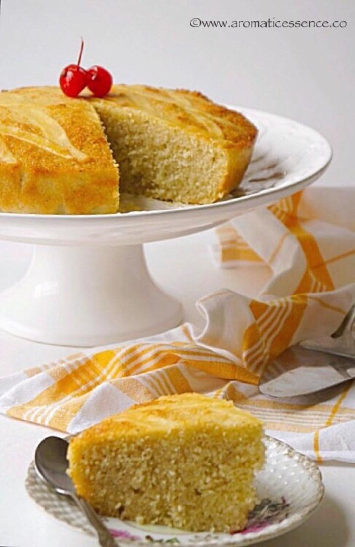 Baath Cake | Batica | Goan Semolina & Coconut Cake