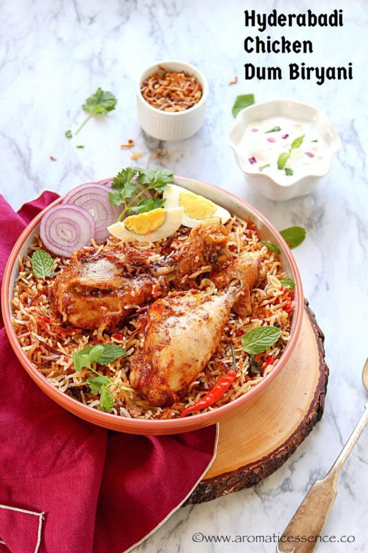Hyderabadi Chicken Biryani | Hyderabadi Biryani Recipe