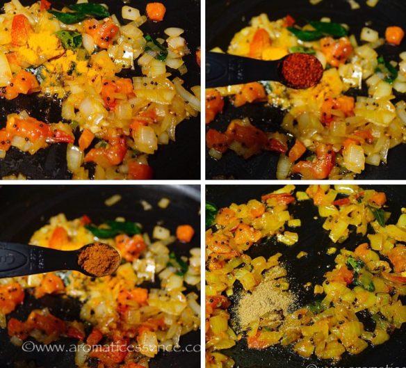Goan Mixed bhaji (Patal Bhaji & Patal Potato Bhaji)