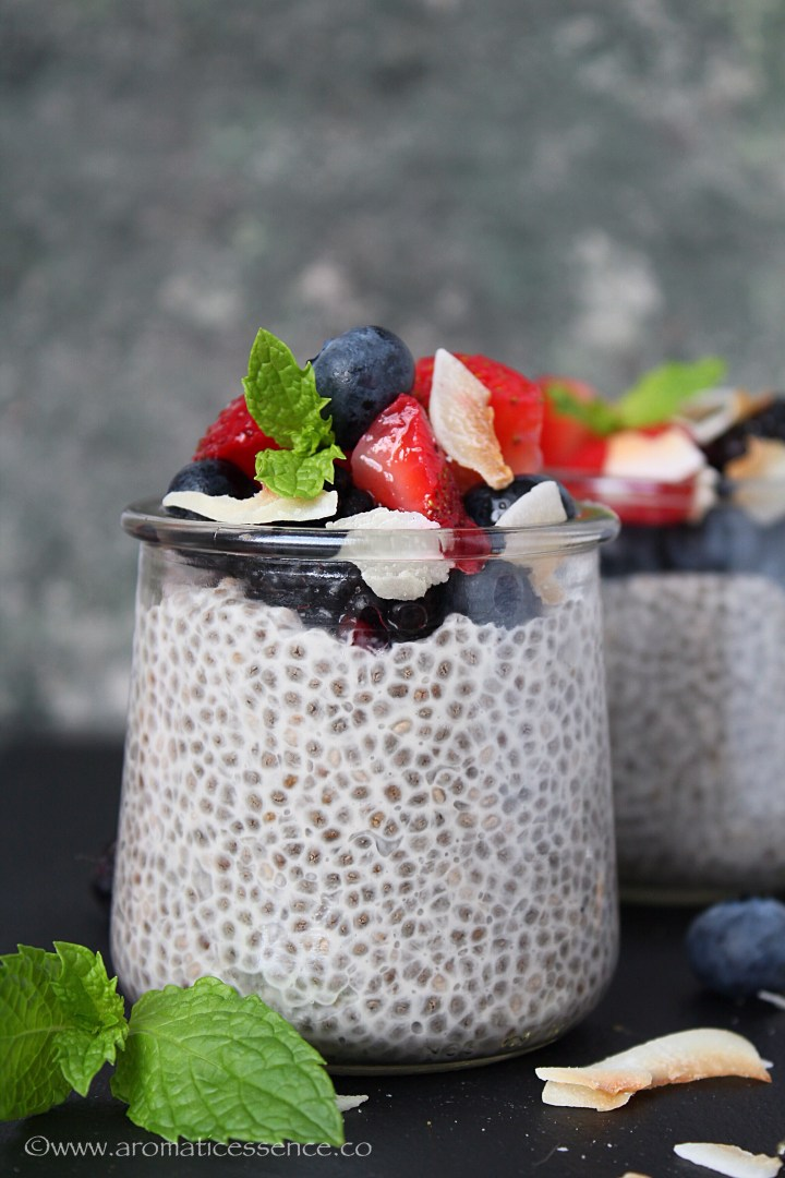 chia seed pudding plus 3 delicious variations