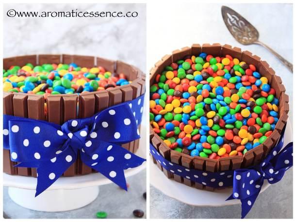 Fine Kit Kat Cake Recipe From Scratch Mms Cake Candy Cake Birthday Cards Printable Opercafe Filternl