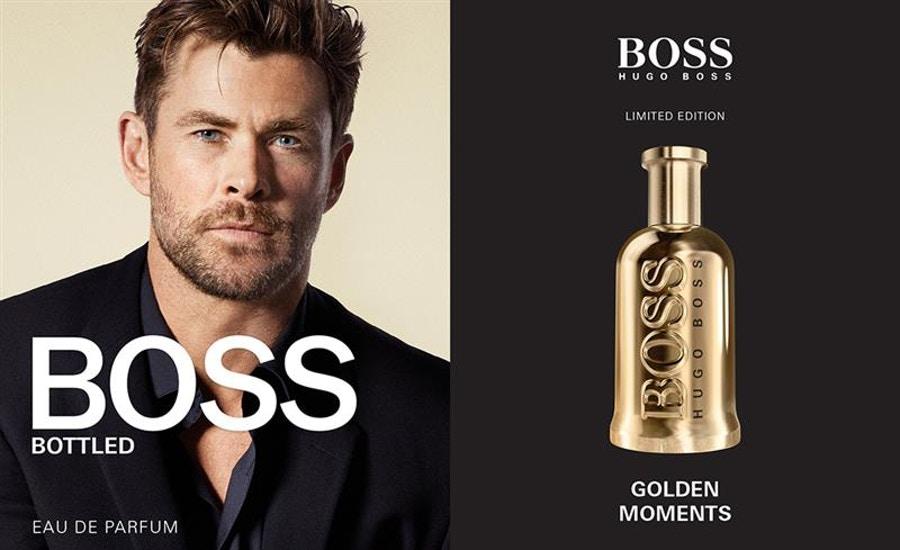 عطر بوس بوتليد جولدين اديشين Boss Bottled Golden Edition
