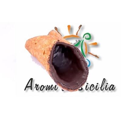 Cialde-cannoli-mignon-glassa-cioccolato