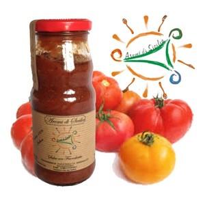 Salsa Siciliana di pomodori e finocchietto