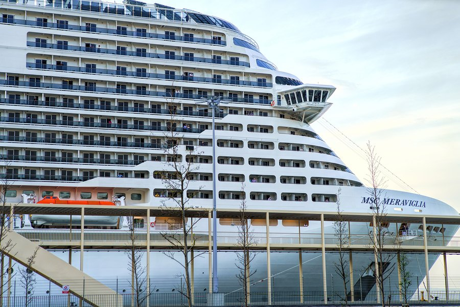 MSC Cruise Ship Turned Away at Two Ports Due to Coronavirus ...