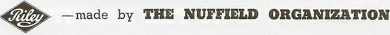 Nuffield Riley