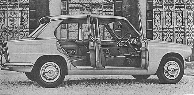 The compact, front wheel drive Triumph 1300 proved an instant hit with customers - a replacement for the Herald, it was not.