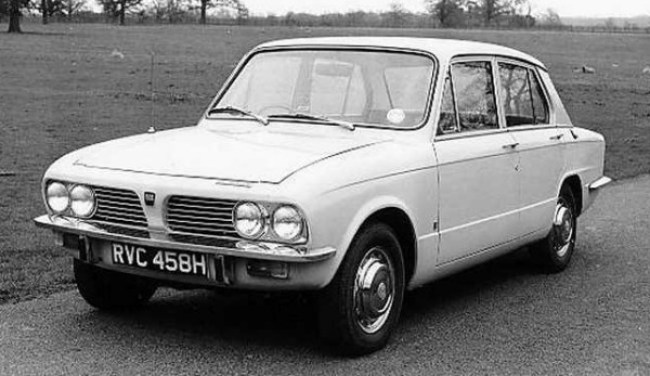 The Triumph 1300 grew up into the 1500: thanks to a new front end and longer tail, the upgunned car remained popular with buyers looking for a compact luxury saloon.