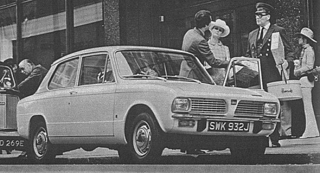 The simplified rear wheel drive Toledo model of 1970, allowed Triumph to lay the Herald to rest following a long and distinguished career. The rear wheel drive drivetrain would outlive the more advanced arrangement found in the more luxurious 1500.