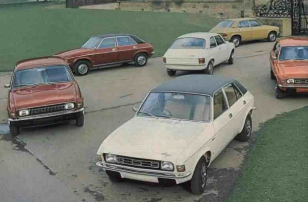 You could never accuse the Allegro of not having a very wide range... (Picture: Autocar)