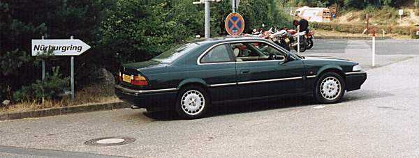 Against the expectations of many people, the Coupé made it to Nürburgring in one piece.