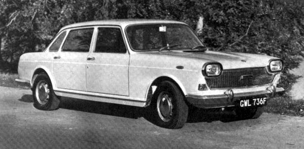 ADO61 version as presented to the press in 1967: Versions like these were run in small numbers before the official public launch in order to gauge public reaction. The headlights were described as 'television shaped headlamp units', but these unsightly items were dropped in favour of the original arrangement for the final production models.