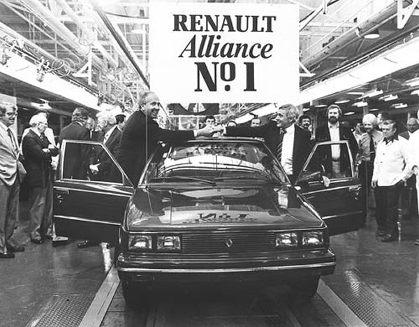 BL were spared having to rebadge Renaults - however, AMC were not, as the existence of their 9-based Alliance demonstrates.