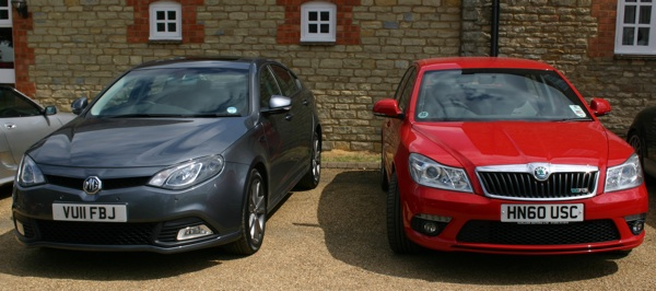MG6 meets Skoda Octavia. Which looks best to you?