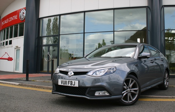 MG6 back at home in Longbridge.