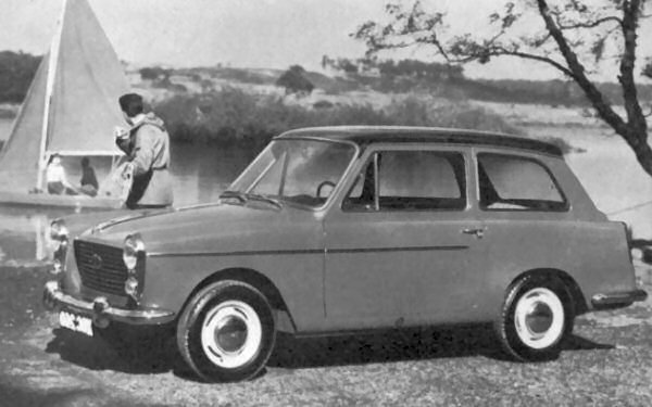 The Pininfarina styled Austin A40 model was launched in 1958 as a replacement for the A35. Styling was smart, but underneath though it was tediously conventional.