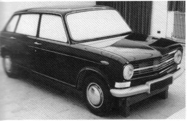 Front and rear styling was limited in appeal - with a particularly nasty 'V' kink in the front...