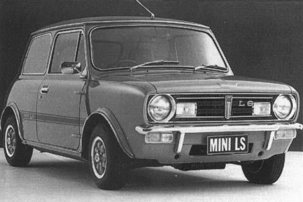 The extremely rare Australian Mini 1275LS.