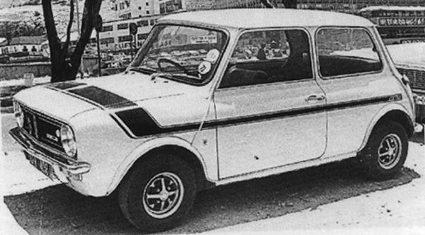 The South-African answer to the Clubman-style 1275GT was known as the Mini GTS, which was boldly announced by its bodyside graphics.