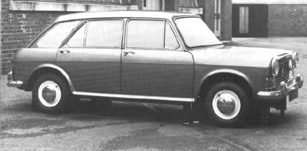 YDO15 development prototype based on the ADO16 showed that the BMC 1100 was an ideal recipient  for sensible upward expansion. Production versions were built in Australia (known as the Morris Nomad);  but for some inexplicable reason (styling, perhaps, which was not as happy as the saloon or Traveller),  it was not deemed suitable for the domestic market.