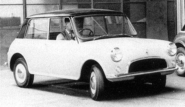 Development began in 1958 with XC9002, a scaled-down version of the 1956 Issigonis XC9001 prototype; however, this was soon thought to look too much like BMC's new Mini.