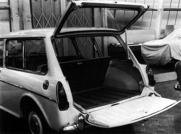 Even before the Austin 1100 had reached the marketplace, plans for an estate version of the ADO16 were already at an advanced stage, as demonstrated by this photograph of the split-tailgate prototype from May 1963; after all, the car's main Ford rivals – the Anglia and Cortina – were both available in estate form. However, demand for the saloon versions proved to be so strong that the estate body didn't see the light of day until March 1966, when it was launched simultaneously as the Austin 1100 Countryman and Morris 1100 Traveller. This delay meant that it was produced for just 18 months in MkI form, and when the MkII version arrived in Autumn 1967, the rear bodywork was carried-over wholesale.