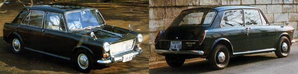 """Bread and butter: the standard ADO16s – seen here in 4-door Morris 1100 Mk1 and 2-door Austin 1300 Mk3 forms – also have their adherents in Japan, although they are nowhere near as popular as the """"posher"""" versions."""
