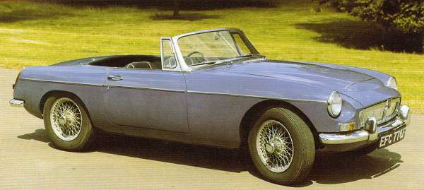 Unlike the MGB GT V8, the MGC was available in Roadster form, too... (Picture: Ian Nicholls)