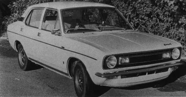 The 6-cylinder, 2623cc Austin Marina 6