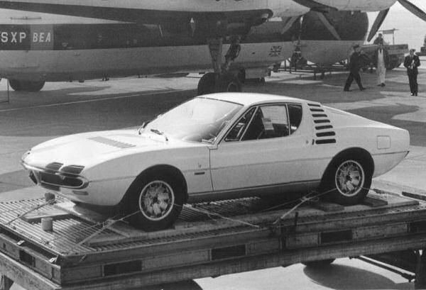 Alfa Romeo Montreal prototype