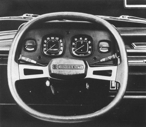 Not even the Italians were spared the indignity of the legendary Quartic steering wheel.