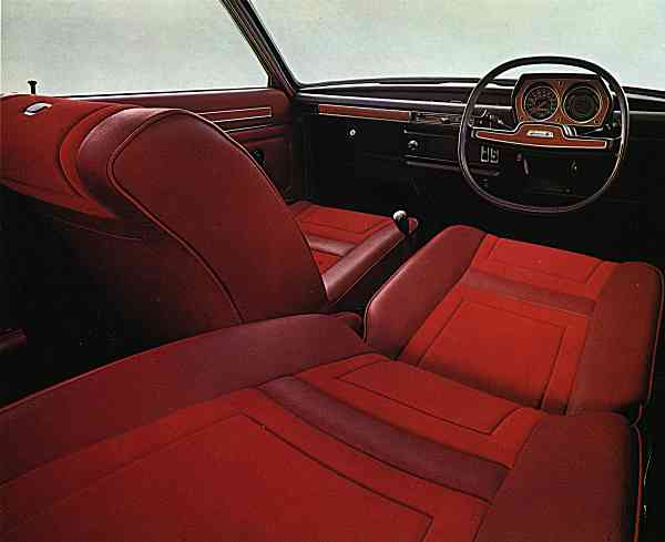 Striking and very '70s, but many buyers were put off by that steering wheel, which soon became an object of derision. (Picture: Richard Gunn)