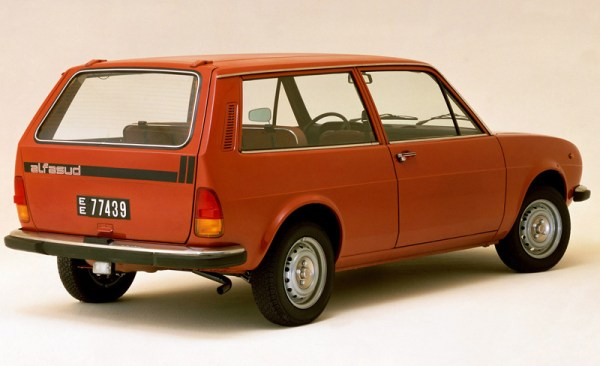 Alfasud estate version, the Giardinetta