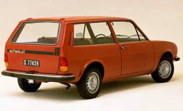 Alfasud estate version, the Giardinetta