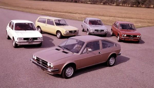 Alfa Romeo Alfasud range